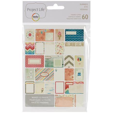 American Crafts Project Life Themed Cards