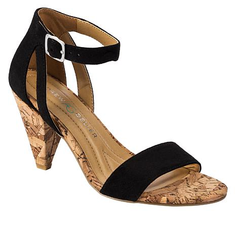Andrew Geller Alyssa Fabric Dress Sandal
