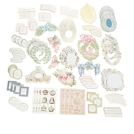 Anna Griffin® 120-piece Crown Sentiments and Embellishments