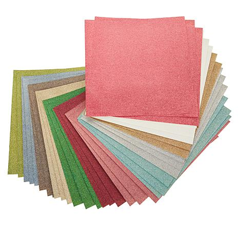 Anna Griffin® 36-pack Glitter Cardstock