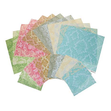Anna Griffin® 72-piece Damask Cardstock Set