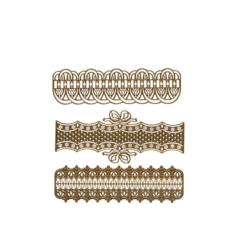 Anna Griffin® Border Trim Cut and Emboss Dies