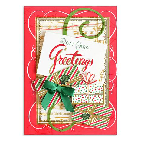 Anna Griffin Christmas Cards.Anna Griffin Christmas 36 Pack Acetate Cards 5 X 7