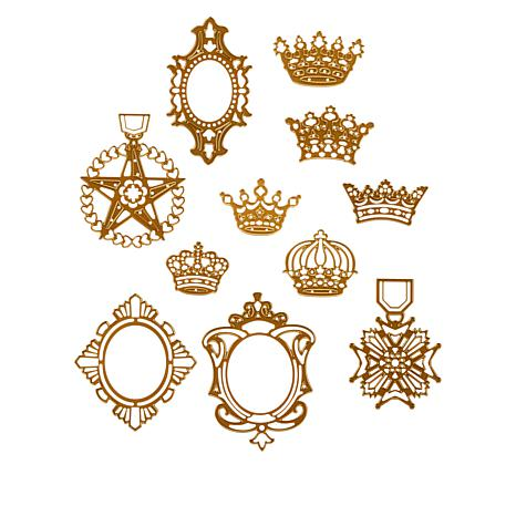 Anna Griffin® Crown Cut and Emboss Dies