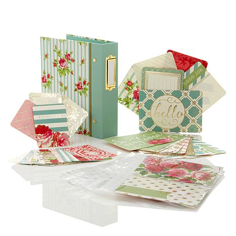 Anna Griffin® English Garden Mini Album w/Design Cards