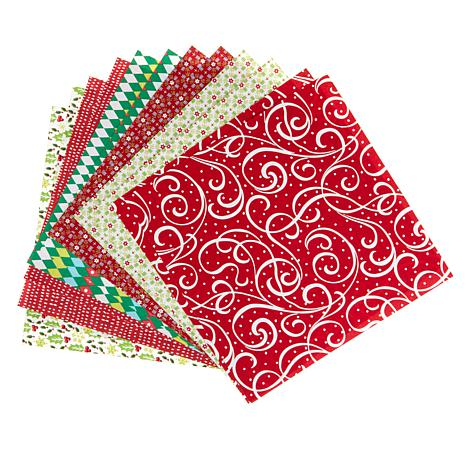 Anna Griffin® Hotfix Fabric Holiday Assortment