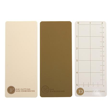 Anna Griffin® Mini Short Magnetic Plate and Embossing Mats Set