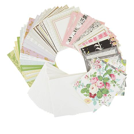 """Anna Griffin® Perfect Pattern 6"""" x 6"""" Card Set - 50-pack"""