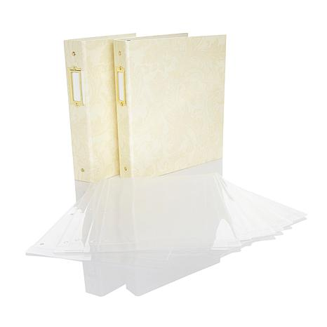 Anna Griffin® Stamp Storage Binder 2-pack