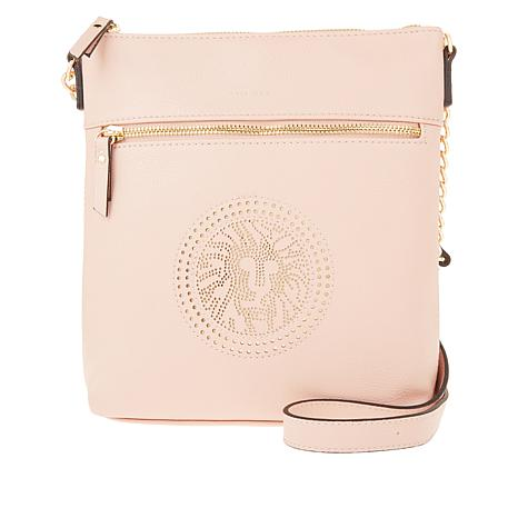Anne Klein Perf Lion Crossbody Bag