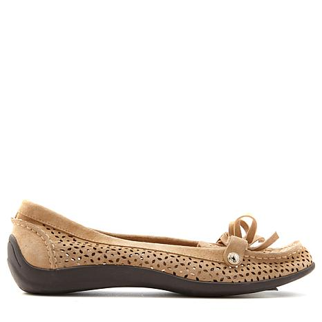 Anne Klein Sport Zayne Perforated Leather Loafer