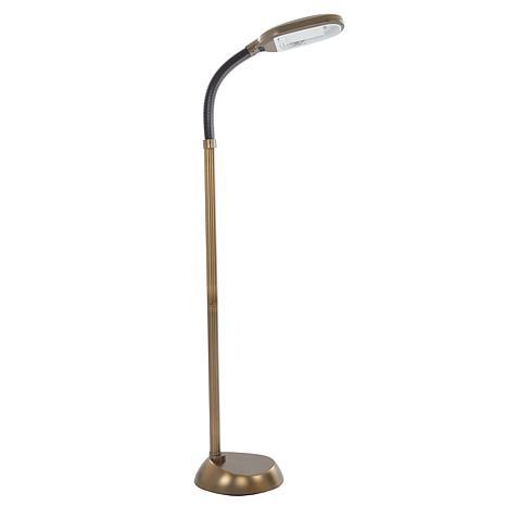 Antique Brass Metal Sunlight Floor Lamp