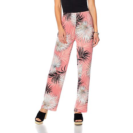 """Antthony """"Dance in Color"""" Printed Pull-On Pant"""