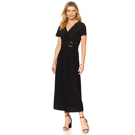 Antthony Jazzy Days Cap Sleeve Maxi Dress 8620927 Hsn