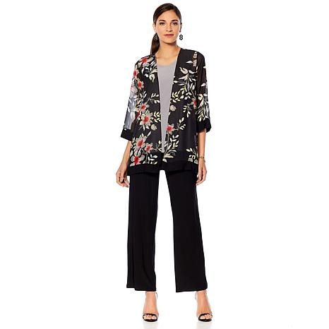 "Antthony ""Jewel of the Nile"" 3-piece Jacket, Tank and Pant Set"