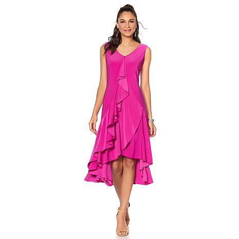 "Antthony ""Struttin' My Style"" Sleeveless Ruffle Dress"