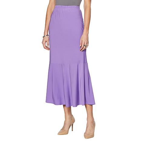 Antthony Trumpet Skirt with Back Godet