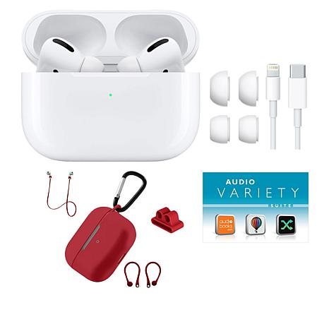 Apple AirPods Pro Earbuds w/Wireless Charging Case & Noise-Cancelling - 9716402 | HSN