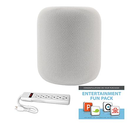 Apple HomePod Smart Speaker with Voice Assistant Bundle