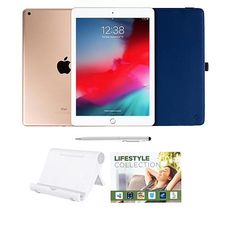 """Apple iPad® 9.7"""" 32GB Tablet with Keyboard Case and Accessories"""