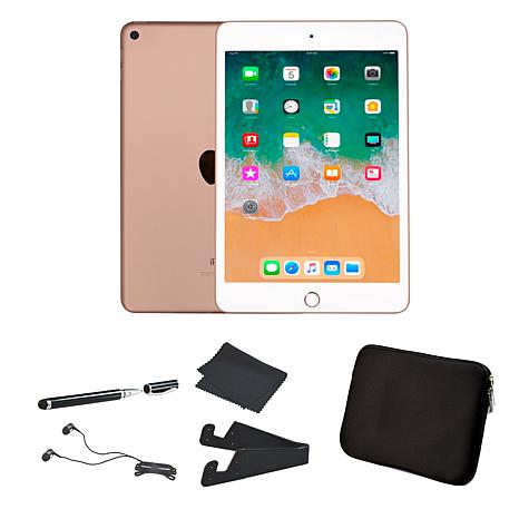 "Apple iPad Mini 5 Cellular 7.9"" 256GB Tablet with Accessories"
