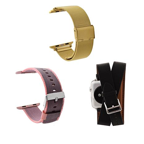 Apple Watch Replacement Band Bundle - Women's Black