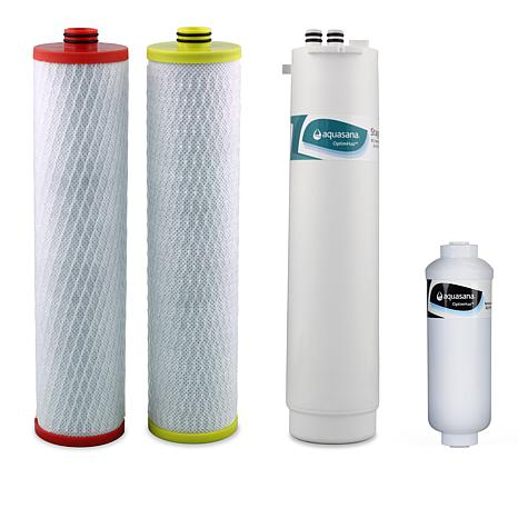 5bdc04d4a2 Aquasana OptimH2O Reverse Osmosis Stage 1 and 2 Filters - 8770133 | HSN
