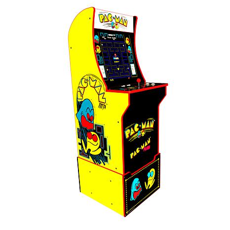 Arcade1Up Pac-man & Pac-man Plus Arcade Machine with Riser