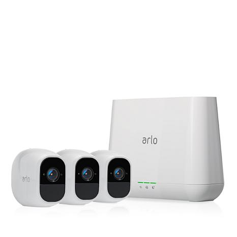 Arlo Pro 2 Smart Security Camera System 3-pack