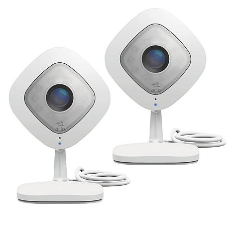 Arlo Q 2-pack 1080p HD Security Camera with Audio