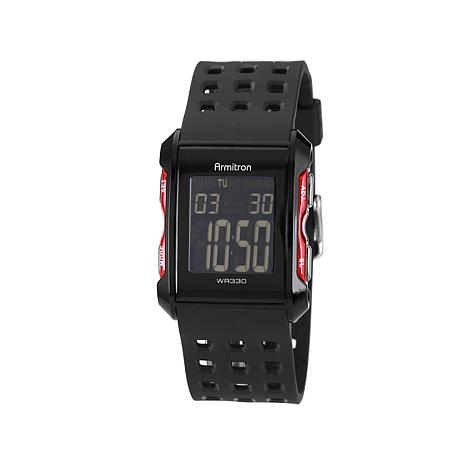Armitron Men's LCD Display Digital Sport Watch