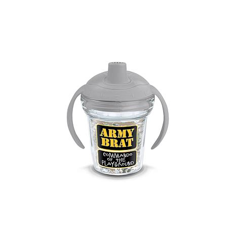 Army Brat 6 oz Sippy with lid