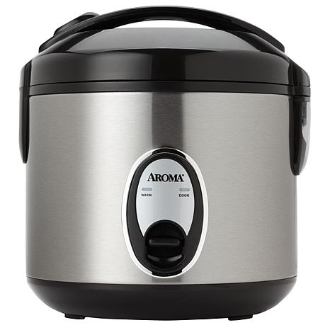 AROMA® 8-Cup(cooked)/2Qt. Rice Cooker and Food Steamer (ARC-914SB)