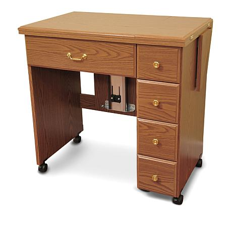 Https i01 hsncdn com is image homeshoppingnetwork prodfull jay king - Auntie Oakley Sewing Table 6881305 Hsn
