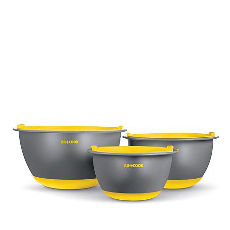 Art and Cook 6-piece Mixing Bowl Set