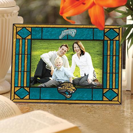Art Glass Picture Frame - Jacksonville Jaguars