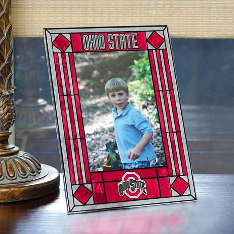 Art Glass Team Photo Frame - Ohio State - College