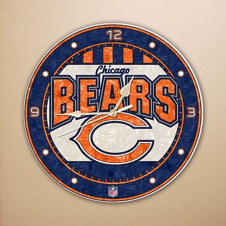 Chicago Bears Wall Art wall clock - chicago bears - 5754204   hsn