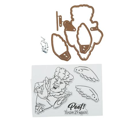 Art Impressions Fairy Flutter Stamp and Die Set