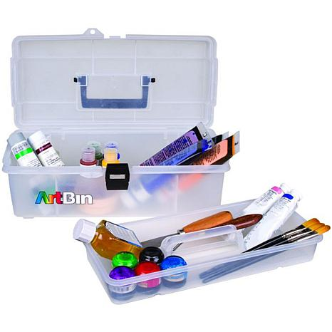 """ArtBin Lift-Out Tray Box 14"""" - Clear"""