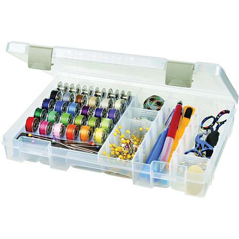 ArtBin Sew-Lutions Bobbin and Supply Box - Translucent