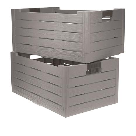 """""""As Is"""" Improvements 2-pack Collapsible Storage Boxes"""