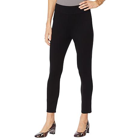 """As Is"" MarlaWynne Premium Knit Skinny Trouser"