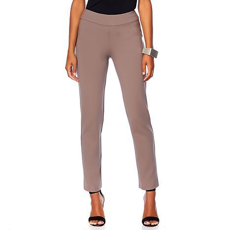 """As Is"" MarlaWynne Premium Knit Trouser"
