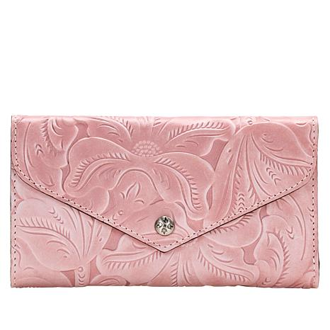 """""""As Is"""" Patricia Nash Cori Envelope Wallet with RFID Protection"""