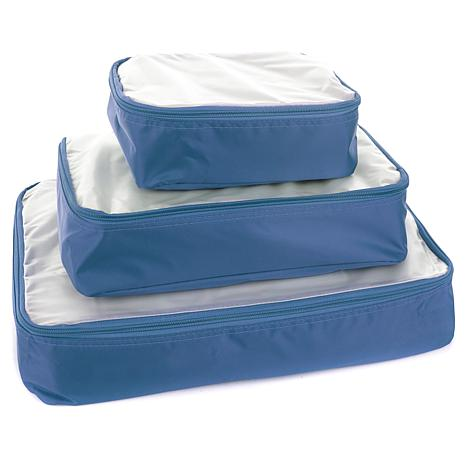"""""""As Is"""" Samantha Brown Packing Cube 3-piece Set"""