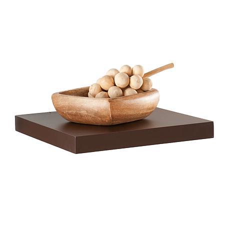 "Assissi 10"" Floating Shelf - Espresso"