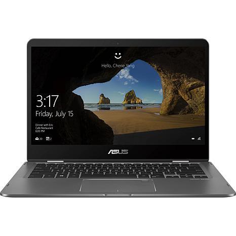 "ASUS ZenBook Flip 14"" Ultra Slim Convertible 8GB 256GB Laptop"