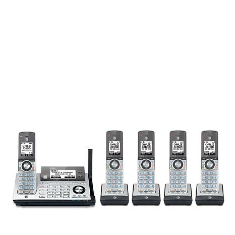 AT&T 5-Handset Cordless Phone System with Connect-to-Cell