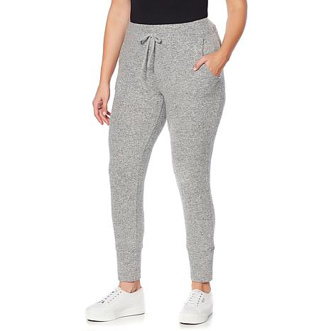 B Collection by Bobeau Brushed Knit Jogger - Plus